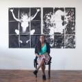 "Photographer Hernease Davis, photo by H. Eugene Foster for ""I Am Black: Translations."""