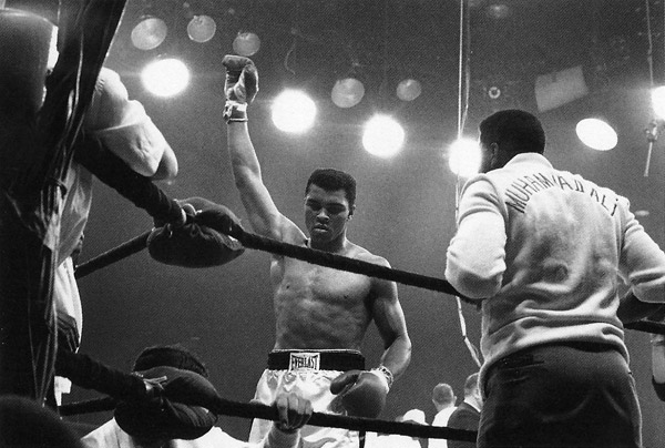 Lewiston, Maine, 1965. After knocking out Sunny Liston. © Howard Bingham