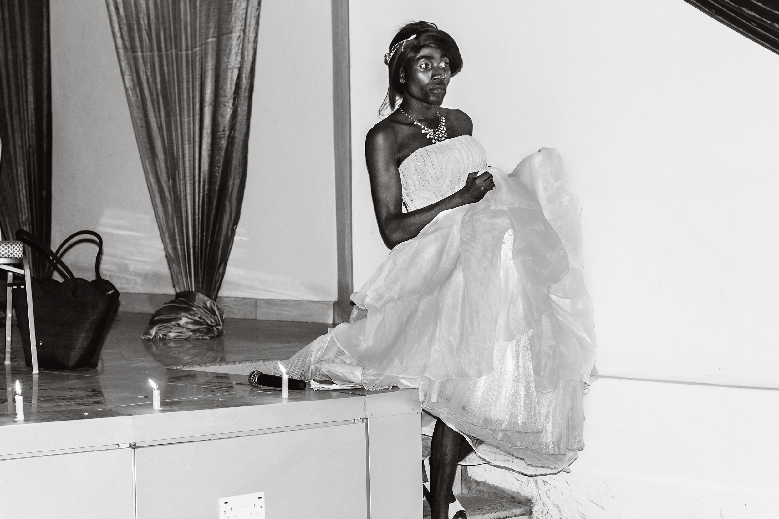 Eric Gyamfi, Henry performing in drag. From the series Just Like Us, 2016 Courtesy the artist